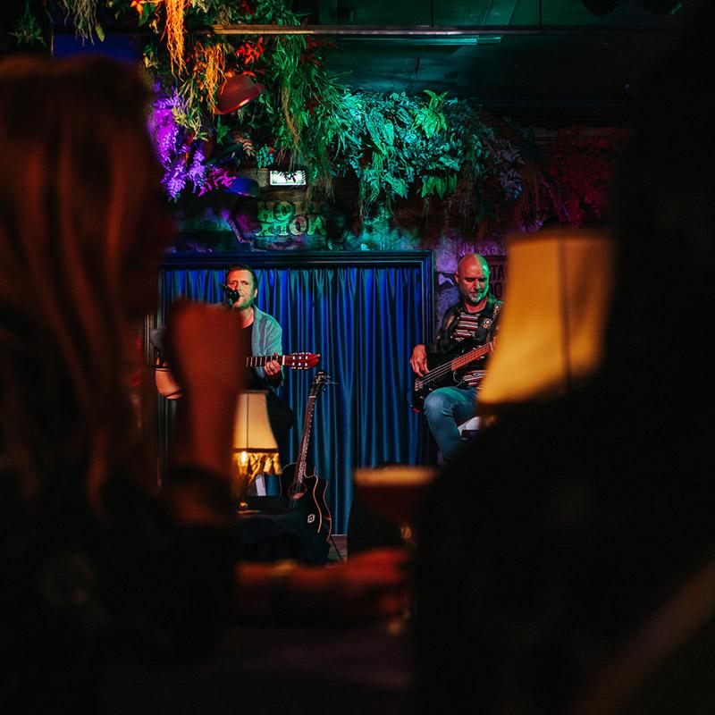 Akoestische live muziek Breda